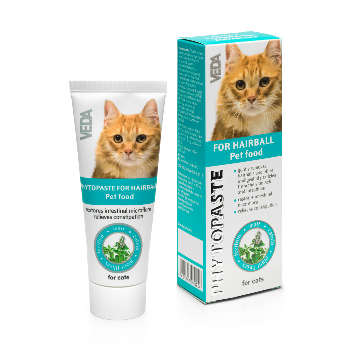 Phytoshampoo-balm for moult dogs cats