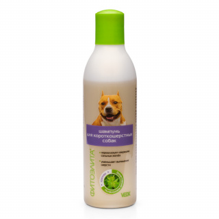 shampoo short haired dogs fitoelita